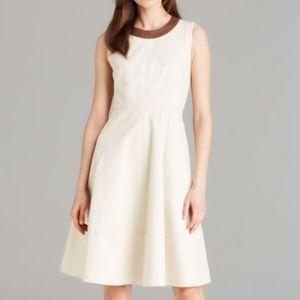 Kate Spade Leather Trim Dress